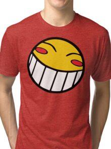 Cowboy Bebop Radical Ed Smiley Face Tri-blend T-Shirt