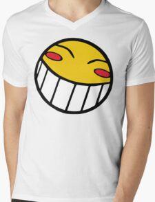 Cowboy Bebop Radical Ed Smiley Face Mens V-Neck T-Shirt