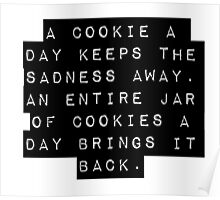 A Cookie A Day Poster