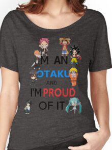 I am an Otaku and I am proud of it Women's Relaxed Fit T-Shirt