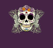 Vintage Skull and Flowers T-Shirt