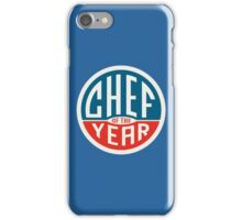 Chef of the year - logo iPhone Case/Skin