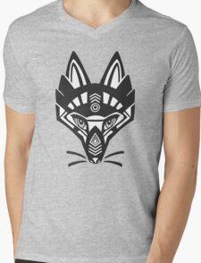Fox shaman Mens V-Neck T-Shirt
