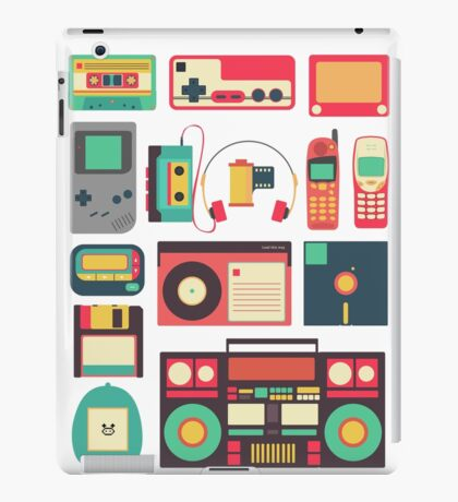 Retro Technology iPad Case/Skin