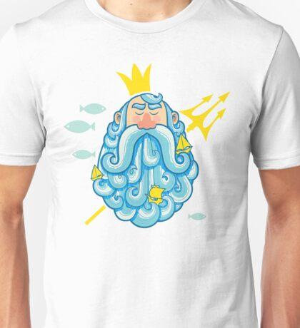 Neptune Portrait Unisex T-Shirt
