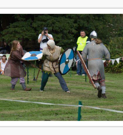 Medieval Fighters Sticker