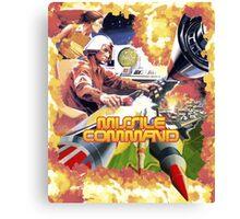 MISSILE COMMAND - ATARI 2600 LABEL CLASSIC Canvas Print