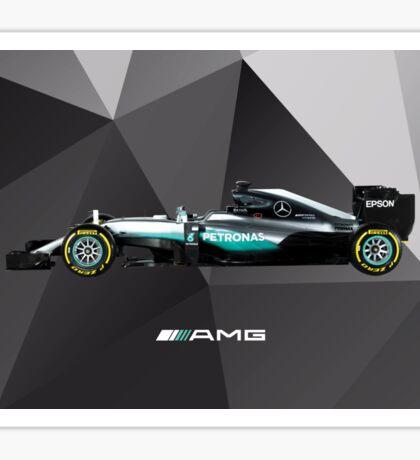F1 Mercedes 2016 Sticker