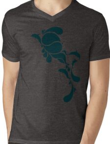 Blue drops Mens V-Neck T-Shirt