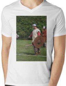 Medieval Fighters Mens V-Neck T-Shirt