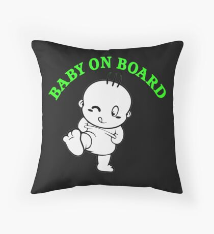 baby on Throw Pillow