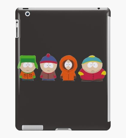 funny south park iPad Case/Skin