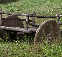 old wooden wagon by spetenfia