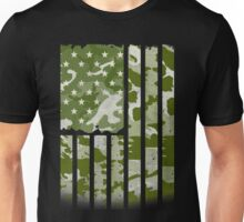 AMERICAN US FLAG ARMY - MILITARY SOLDIER  Unisex T-Shirt