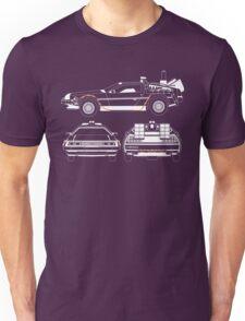 Delorean DMC Back to the Future Unisex T-Shirt