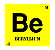 Beryllium Photographic Print