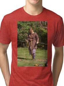 Medieval Fighters Tri-blend T-Shirt