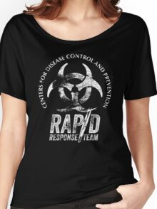 CDC - Rapid Response Team (White Out) Women's Relaxed Fit T-Shirt