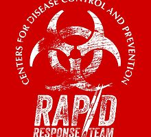 CDC - Rapid Response Team (White Out) by godgeeki
