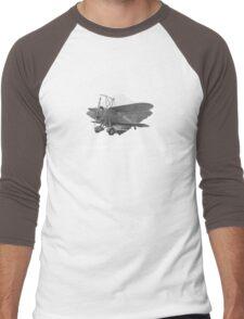 "U.S. Navy - Curtiss F9C-2 ""Sparrowhawk"" Fighter (White) Men's Baseball ¾ T-Shirt"