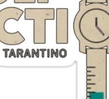 Pulp Fiction Logo Sticker