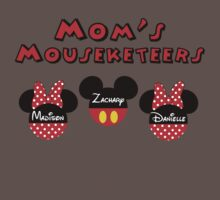 Custom Mom's Mouseketeers   *FOR YOUR CUSTOMIZED ITEM* PLEASE CONTACT ME by sweetsisters
