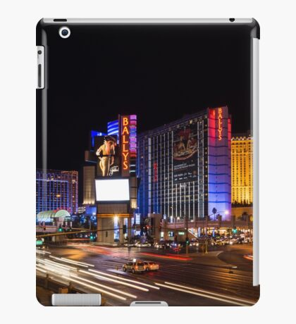 Sparkling Las Vegas Neon - Zooming Along the Strip iPad Case/Skin