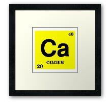 Calcium Framed Print