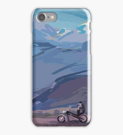 Freedom on a Motorcycle iPhone Case/Skin