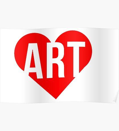 I ART U Poster