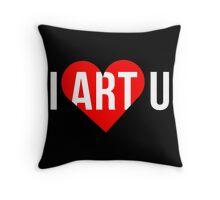 I ART U Throw Pillow