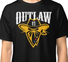 OUTLAW (white) Classic T-Shirt