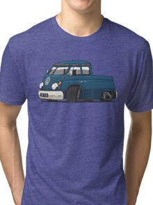 VW T1 Transporter crew cab personalized Tri-blend T-Shirt