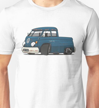 VW T1 Transporter crew cab personalized Unisex T-Shirt