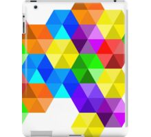 Complementary color explosion iPad Case/Skin