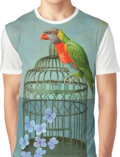 The Parrot Graphic T-Shirt