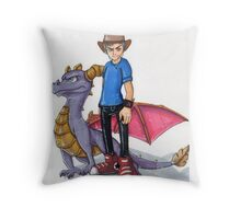Spyro Print Throw Pillow