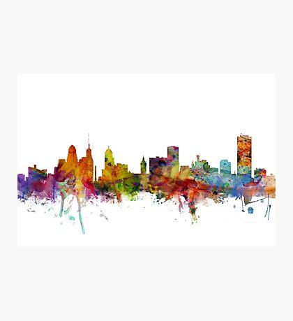 Buffalo New York Skyline Photographic Print