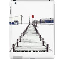 Figueira da Foz - Blue Beach Bar iPad Case/Skin