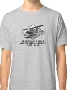 U.S. Navy-Curtiss SOC-1 Scout Observation Aircraft Classic T-Shirt