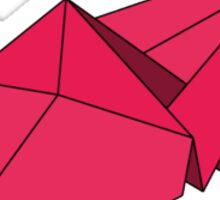 Ooh! A Crane! In Pink! Sticker