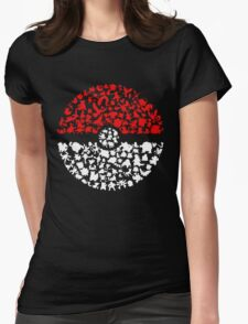 Who's That? Womens Fitted T-Shirt
