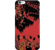 Why Did It Have To Be Snakes -black- iPhone Case/Skin