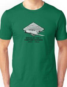U.S. Navy - Douglas TBD-1 Torpedo Bomber Unisex T-Shirt