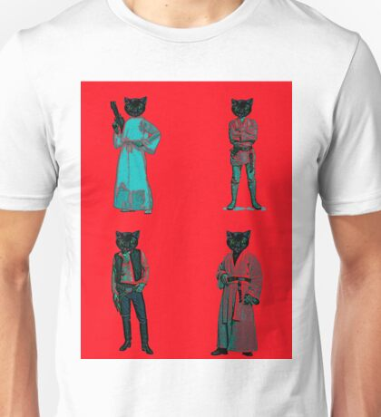 cat solo and gang Unisex T-Shirt