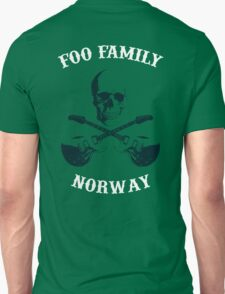Foo Family Norway Unisex T-Shirt