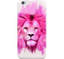 Pink Lion iPhone Case/Skin
