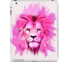 Pink Lion iPad Case/Skin