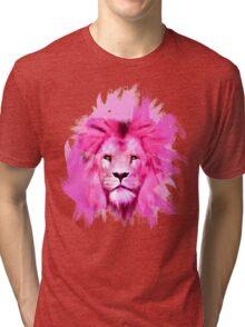 Pink Lion Tri-blend T-Shirt