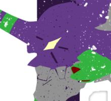 Eva 01 Silhouette Sticker